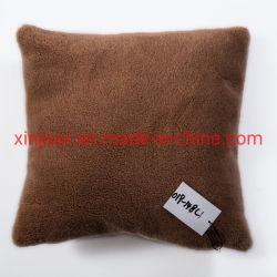 30% Wolle-kleiner Körnchenfaux-Pelz-Kissen-Deckel-/Kissen-Fall (019-148C)