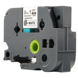 すべての兄弟8m*24mmのために互換性があるTzSe5機密保護テープTz2-Se5はラベルプリンターにP触れる