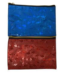Diseño personalizado de Venta caliente Flamingo maquillaje de Viajes Mayorista de la bolsa de regalo de promoción de la bolsa de cosméticos guateado colorido