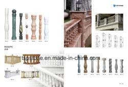 Massief stenen pilaar, graniet/Marmeren zuil met populair ontwerp