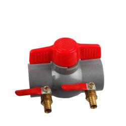 Fabbrica Commercio all'ingrosso valvole per concime in PVC raccordi per tubi tubo di irrigazione a goccia