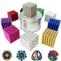 As esferas magnéticas bolas Bucky Magic Puzzle Neo Cube Esfera Magnética 5mm 216 PCS bolas com magneto de neodímio magnética de 3 mm a 5 mm