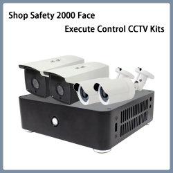 店の安全2000表面は制御CCTVキットIPのカメラを実行する