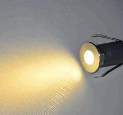 1 W à LED IP67 enterré le métro léger avec une lumière douce