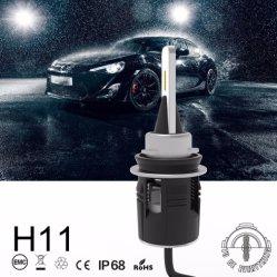 Scheinwerfer-Konvertierungs-Installationssatz der Autoteil-6000K 24W 3600lm des Auto-LED