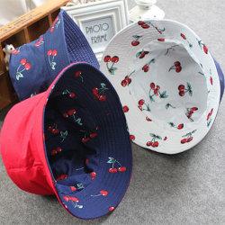 여가 면 여자 모자 형식 2 주문을 받아서 만들어진 레이블 로고를 가진 옆 물통 모자