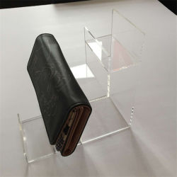 Suporte de monitor de joalharia de acrílico Saco da escada mostrando Rack de Desktop