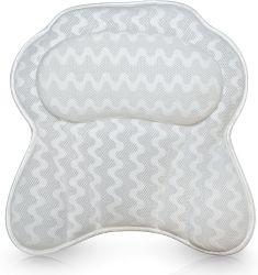 Oreiller de bain de luxe pour les femmes et les hommes : baignoire ergonomique coussin pour le cou, de la tête et épaules : avec Quiltedair Mesh pour Includ respirable Confort : :