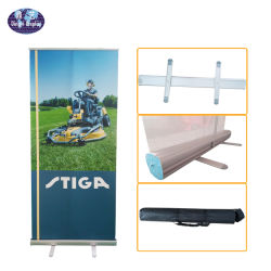 Plancher de la publicité contextuelle d'affichage permanent Roll up Banner