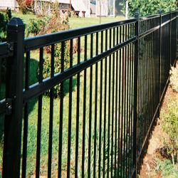 アルミニウム塀のパネルの黒の庭の塀の防御フェンス