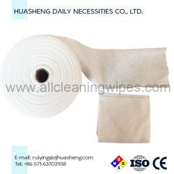 Tissu non tissé spunlace Mesh Serviette Serviette Roll