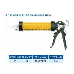 9pouce pistolet à joint silicone Tube en plastique de la colle pistolet à calfeutrer (WW-SC05)