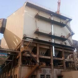 La industria del acero los gases de combustión de flujo uniforme de colector de polvo