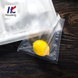 Haut de stockage des emballages alimentaires en plastique transparent plaine Pochette vide
