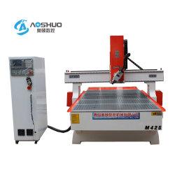 Vier-Mittellinie CNC-Fräser 1 Jahr-Garantie und neue Stich-Formung-/Ausschnitt-Maschine des Bedingung CNC-Fräser-3D