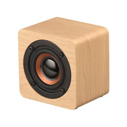 Super Mini беспроводной гарнитуры Bluetooth древесины 2019 окно старинной деревянной портативный сабвуфер сильной динамики объемного звучания низких частот с логотипом