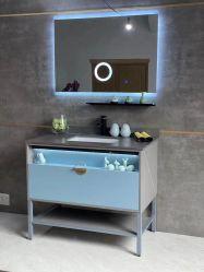 2020 Últimas espejo LED Hotel Modern productos de baño de madera maciza
