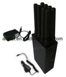 Mini-ordinateur de poche de 8 bandes signal brouilleur bloqueur de cellulaire mobile