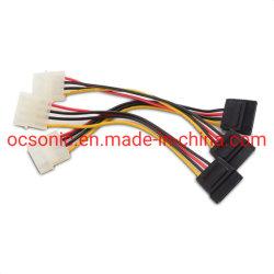 SATAの電源コードへの4 Pin Molex