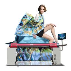 Grande macchina di stampaggio di tessuti del getto di inchiostro di Digitahi di ampio formato di sconto con il sistema della cinghia