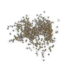 Banheira de venda de diamantes de vidro acrílico Moda Rhinestone Restauração quente rodada apontou para trás
