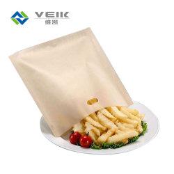Alimentos de peces de PTFE reutilizable pan tostado de calentamiento de la bolsa de tostado