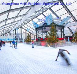 40*50m grande tenda curvo de alumínio eventos exposições ao ar livre tenda para o Centro Desportivo Municipal de patinagem