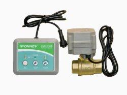 يتم قطع الصمام الكهربائي ثنائي الاتجاه وواقي تسريب المياه الذكي DN8-DN25 1/4''' إيقاف تشغيل المياه محرك بطارية جهاز الكشف عن تسريب ذكي بكاشف المياه DC3V