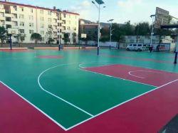 Piscina Cancha de baloncesto de Spu la construcción de pisos