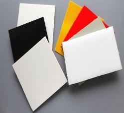 مقاومة وزن خفيف ورق بلاستيكي PVC PP مقاس مقاومة لوح ورق صلب شفاف بلون رمادي PVC أبيض شفاف لـ طباعة تشكيل الحرارة باستخدام التغليف