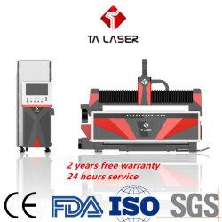 금속 장 격판덮개와 관 가공에 자동 선적 시스템에 의하여 섬유 Laser 절단기