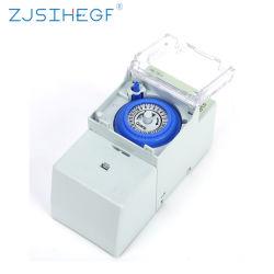 Sul181h mechanische tijdschakelaar 8 Instellingen Handmatige/automatische controller