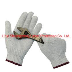 Barato al por mayor cadena de Mezcla de Lana de algodón Camisa tejida guantes de seguridad