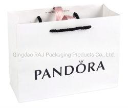 贅沢なペーパーギフトの宝石類の昇進の包装のショッピング・バッグ