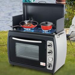 Portalbe al aire libre Camping gas con horno a gas cocinas