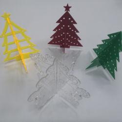 Kundenspezifischer Weihnachtsdekoration Acrylbaum