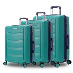 O melhor 3PCS DE PP Sala Definir Novo Estilo de carrinho de plástico Sala Vintage mala
