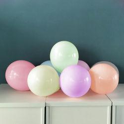 10 pouces Décoration 2.2G Partie Multi Couleur Macaron ballon Latex personnalisé