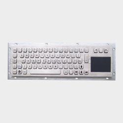 لوحة مفاتيح معدنية صناعية ولوحة لمس