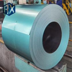 Az150/Yellow/Blue/Green/Red/0.12/0.22/0.4/0.5mm DC51D/SPCC Anti Finger Aluzinc/Galvalume/Zincalume/Aluzink Steel في Coils مع وكالة فرانس برس