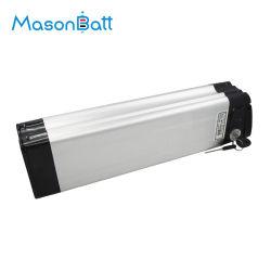 Il pacchetto elettrico d'argento della batteria della bicicletta dei pesci 24V 10ah della batteria del muratore ha personalizzato