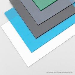 Sólido policarbonato PC Hoja Hoja con una alta transparencia