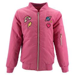 폴리에스테 연약한 쉘 아이들 Varsity 아래로 겨울 아이 소녀 최신 디자인 스포츠용 잠바 및 제조자를 위한 아기 재킷을 덧대는 한국 최고 형식 작풍 겨울