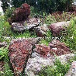 حجارة طبيعيّ بركانيّة زخرفيّة حمّم بركانيّة حجارة حديقة منظر طبيعيّ [بوولدر]