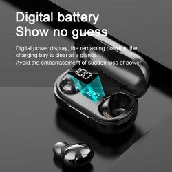 T8 Stereo Music Bluetooth Handsfree Game automatisch koppelen Touch-toets Draadloze Bluetooth-headset met oplaadbox voor oortelefoon