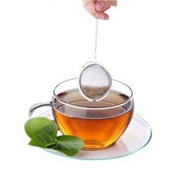 普及したステンレス鋼の網のティータイムの茶こし器