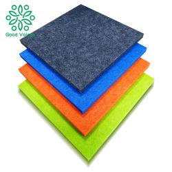 Materiale antiacustico insonorizzato utilizzato in parete fonoassorbente di poliestere della sala della fibra del soffitto ad alta densità del comitato