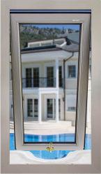 Salle de bains Top-Hung Swinging fenêtre Ouverture de la fenêtre Sortie en aluminium