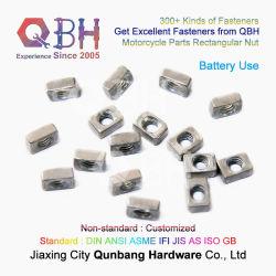 Qbh Fabrica Customized 4.8 Plain M5 M6 Rectângulo Motor Autocycle Bateria sobressalente de parafusos e porcas dos componentes acessórios Motor partes do motociclo
