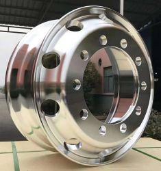 Высокое качество поддельных алюминиевых ободьев колес 22,5 X9.00 для 315/80r22,5 давление в шинах